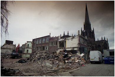 All Saints building...nearly gone