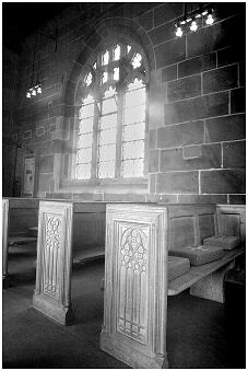 PEWS AND WINDOW