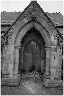 Main entrance to the chapel