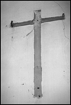 The Cross of Christ used to be here