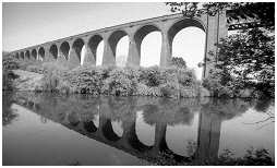 (4F)   CONISBROUGH VIADUCT. This Bridge is 528 yards long and built between 1907-08