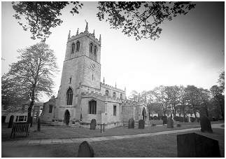 (D3 O)    St Peter's Church served as a Minster to other churches from Harthill to Goole
