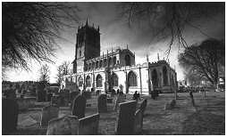 (GSG)   St Mary's Church of Tickhill. South Yorkshire
