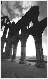 (GSL)   The ruins of Whitby Abbey. North Yorkshire