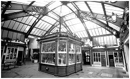 (1B)   IMPERIAL ARCADE erected in 1907 to replace the old indoor Rotherham markets