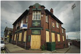 The Millmoor pub. Now also facing an uncertain future
