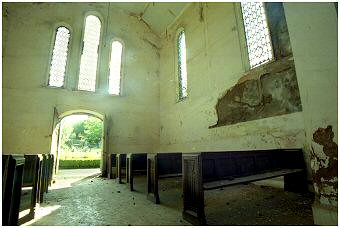 Urgent work is needed to stop  further deterioration on this non consecrated Chapel