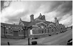 (3B)   This is now a restaurant but previously it was Rotherham's main railway station. Opened in 1840.