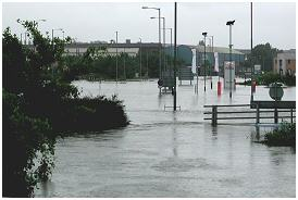 Centenary Way at Ickles roundabout area