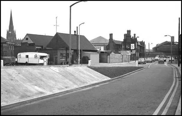 Rawmarsh Road in 1969