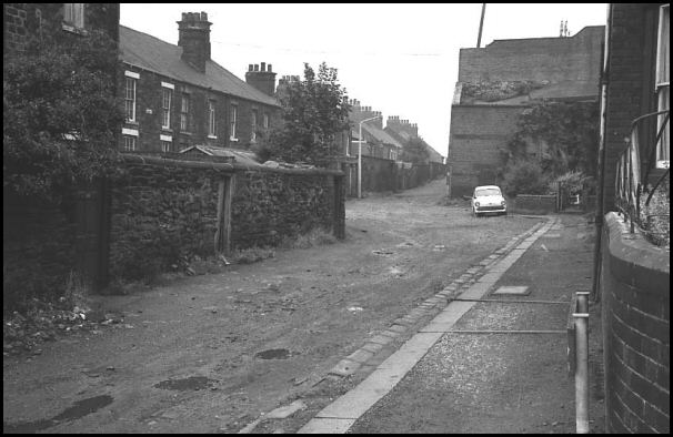 St Leonard's Lane in 1970