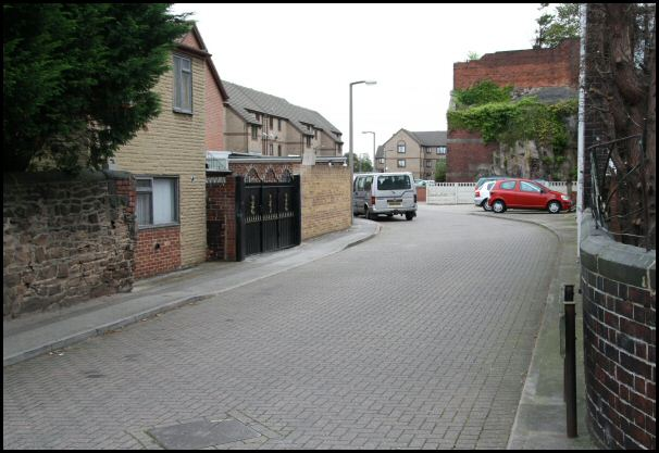 St Leonard's Lane today