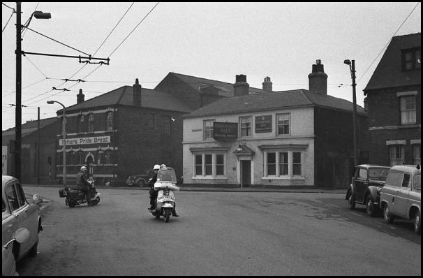 Greasbrough Road in 1960's