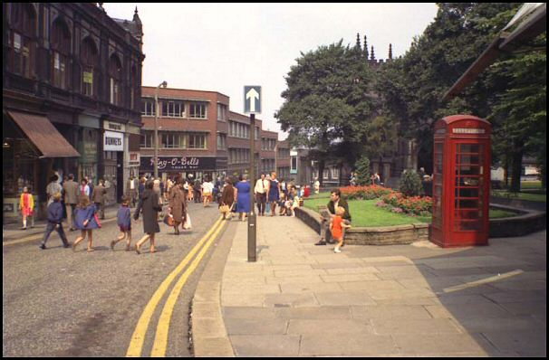 Church Street in 1969