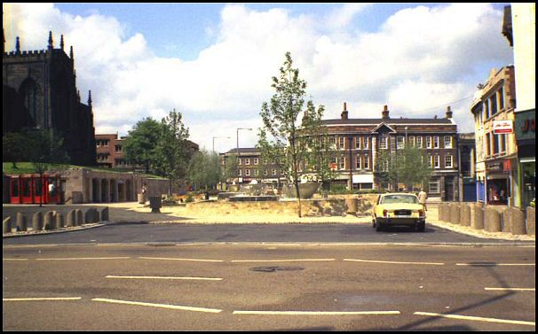 All Saints Square in 1972