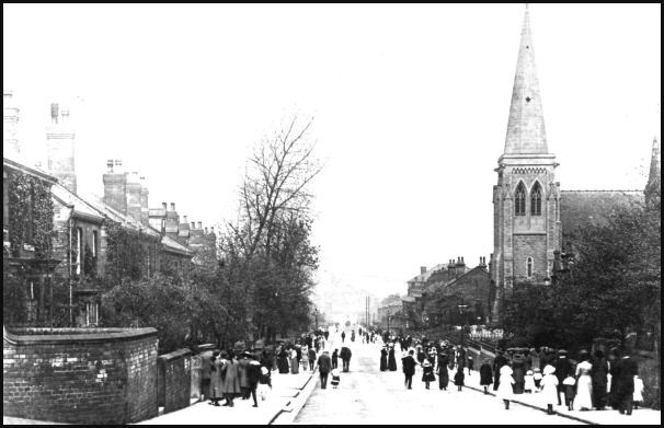 St Ann's Road in 1912