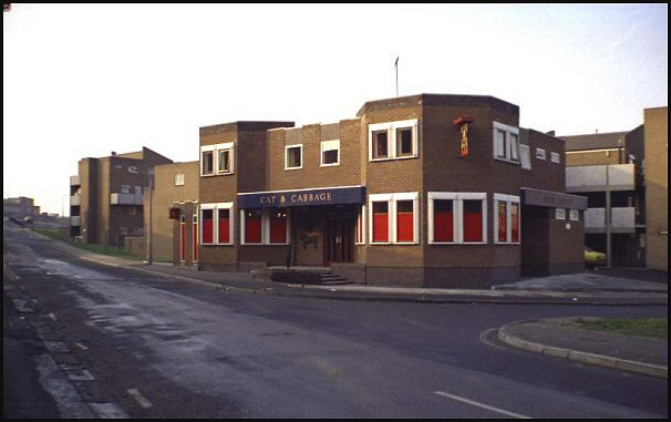 'The Cat and Cabbage', Carlisle Street in 1975
