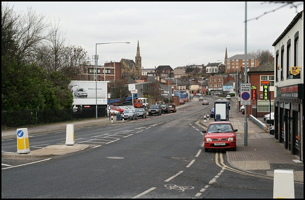 Sheffield Road today