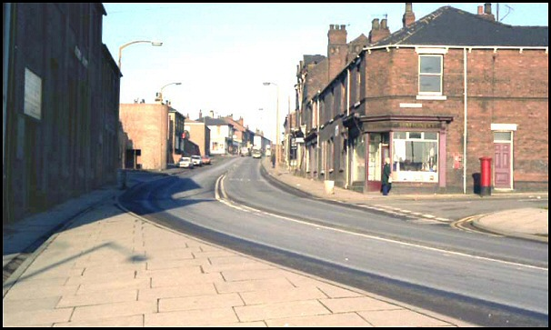 College Road in 1978
