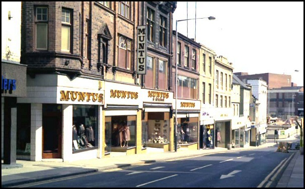 High Street in 1978