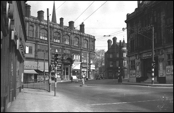 High Street in the background. 1962