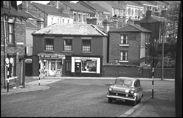 Mansfield Road in 1964