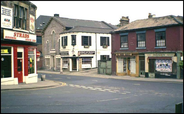Mansfield Road in 1978