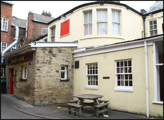 Red Lion yard