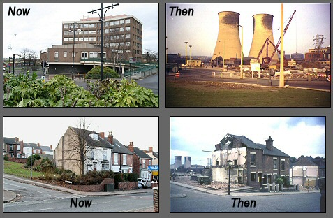 Rotherham Now & Then