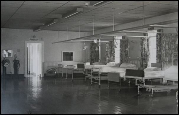 'Chalet' treatment centre, previously male T. B. unit.