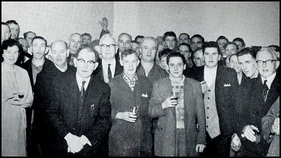 Mr Beaumont farewell party in 1965