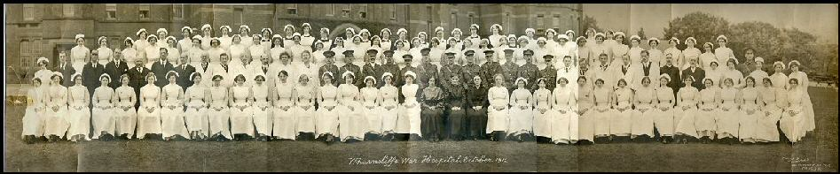 Wharncliffe War Hospital 1916