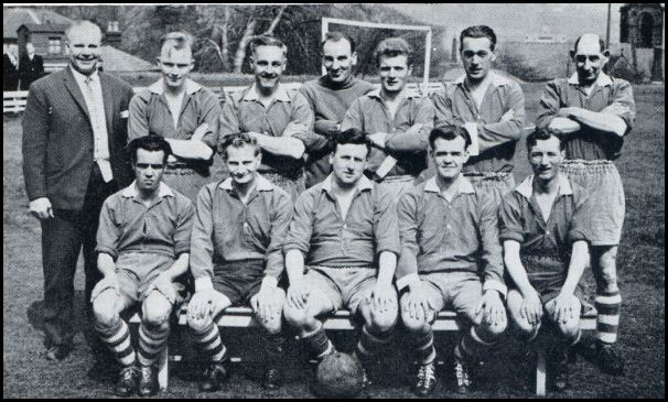 The hospital winning team of 1964-65