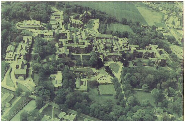 Middlewood Hospital from the air