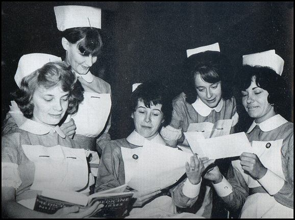 Nurses in mid 1960's