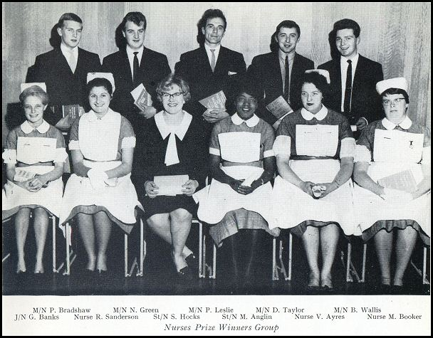 Nursing staff in 1965