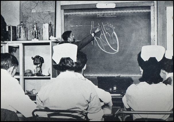 Nurses during lesson