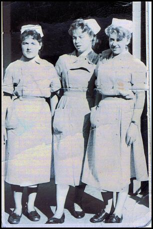Nurse Cadets in the 1950's