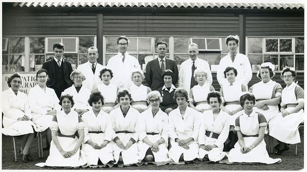 This is the Occupational team in early 1950's