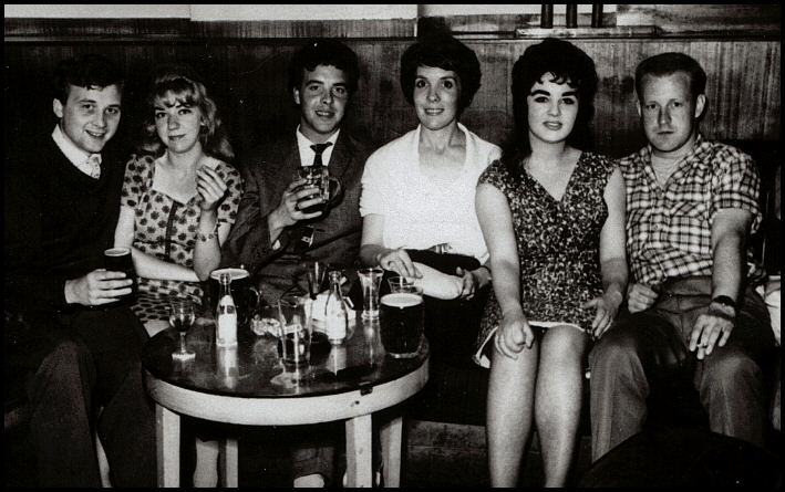 Mike's friends in 1961