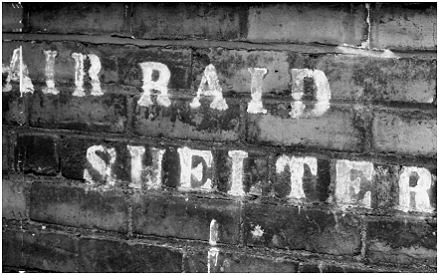 WW2 air raid shelter