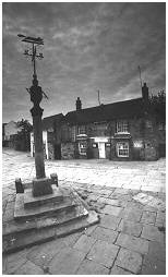 (S2H)   The Market Cross in the Woodhouse shopping square