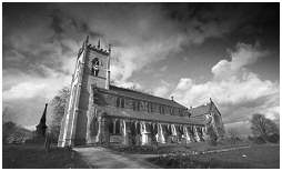 (4L)   ST MARGARET CHURCH built in 1816. Situated in the Swinton area of Rotherham
