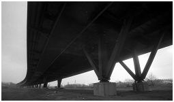 (4G)   TINSLEY VIADUCT. The M1 double decker bridge