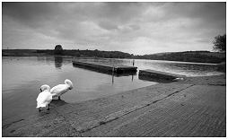 (1C)   ULLEY COUNTRY PARK. This reservoir was built in 1874 to provide drinking water for the people of Rotherham
